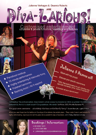 Tracey Roberts - Divalrious poster